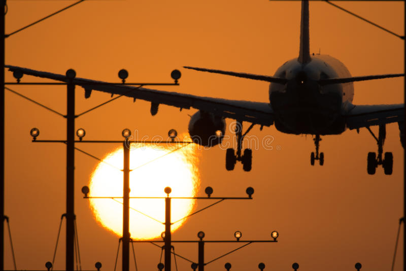 Авиапорт Лос-Анджелеса стоковое фото rf