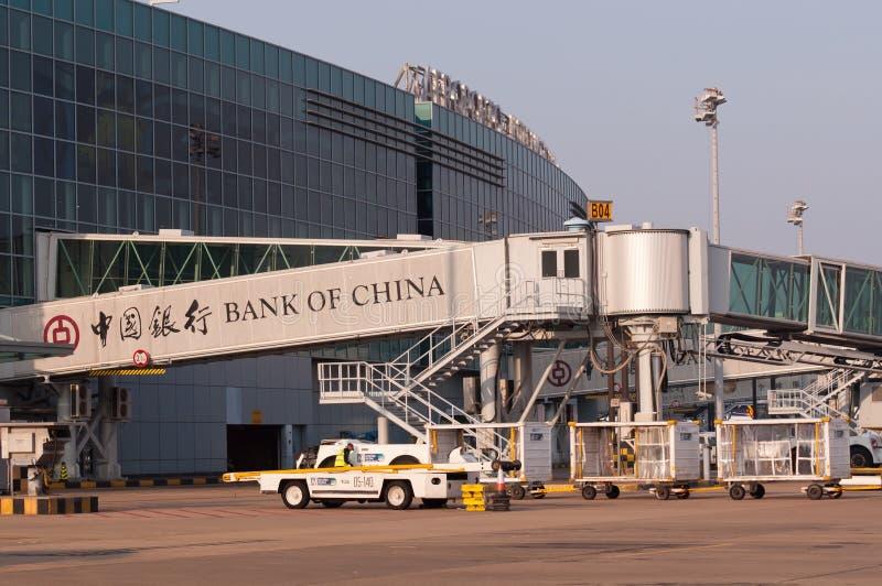 Авиапорт Макао стоковые изображения