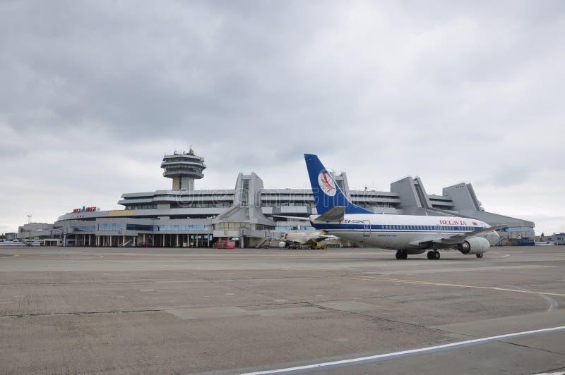 Авиапорт Минска национальный стоковое изображение