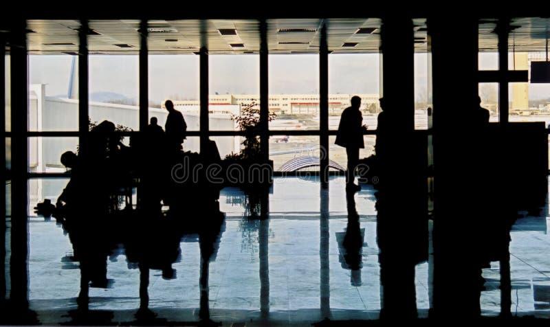 Download авиапорт многодельный стоковое изображение. изображение насчитывающей отражение - 89039
