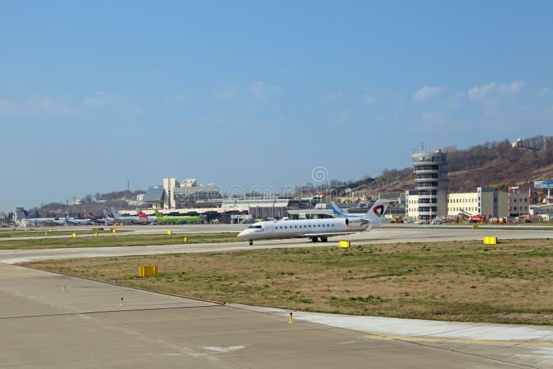 Авиапорт Сочи стоковые изображения