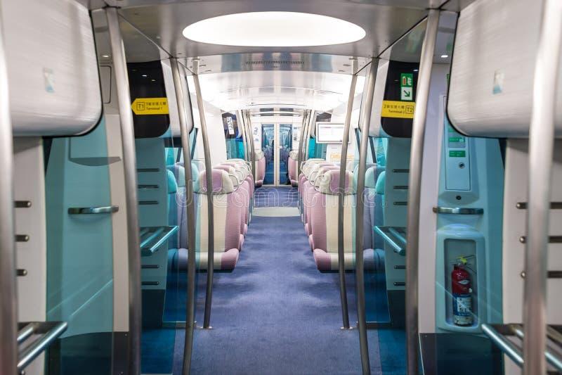 Авиапорт срочный Гонконг MTR стоковая фотография rf