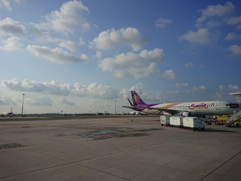 Авиапорт Таиланд стоковые фотографии rf