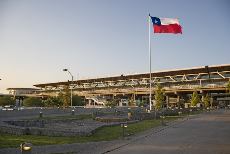 Download авиапорт Чили de santiago стоковое фото. изображение насчитывающей перевозка - 492748