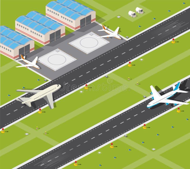 Авиапорт бесплатная иллюстрация