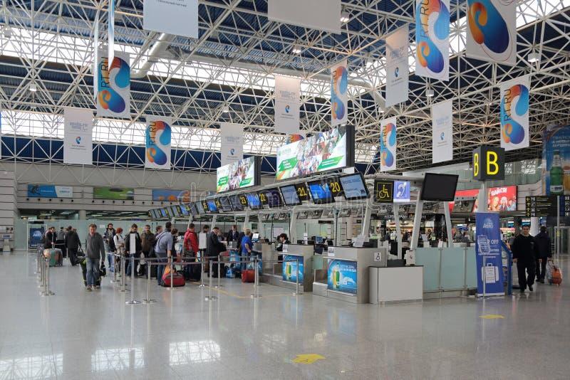 Авиапорт Adler стоковое фото rf