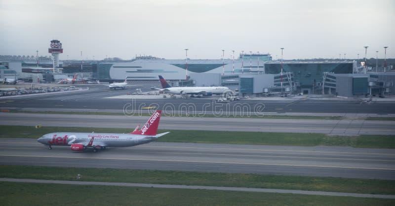 Авиапорт Fiumicino Сделанная подготовка для полета стоковые изображения rf