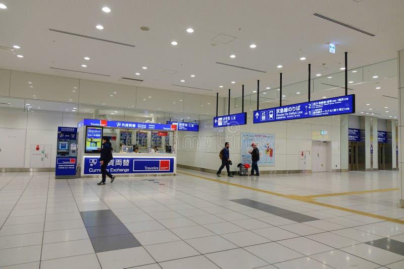 Авиапорт Haneda, Япония - международный аэропорт токио стоковые фото