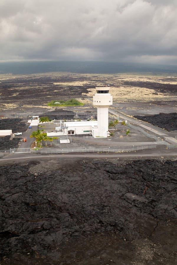 Авиапорт Kona, большой остров, Гаваи стоковые изображения