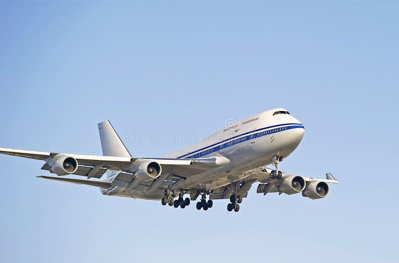 Авиалайнер двигателя стоковые изображения rf