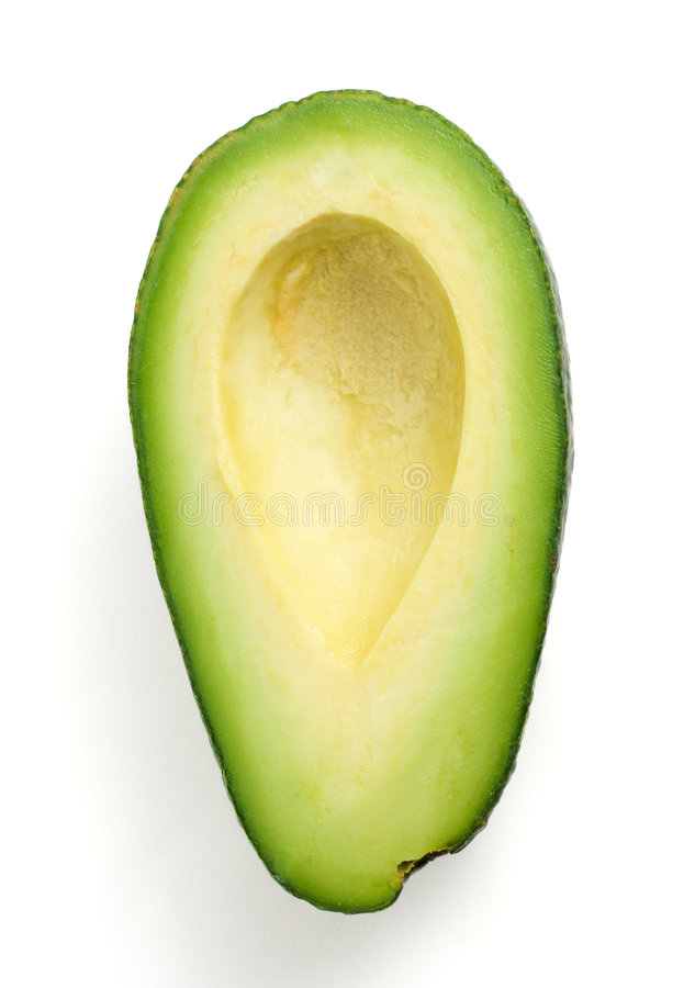 авокадо половинный стоковое фото
