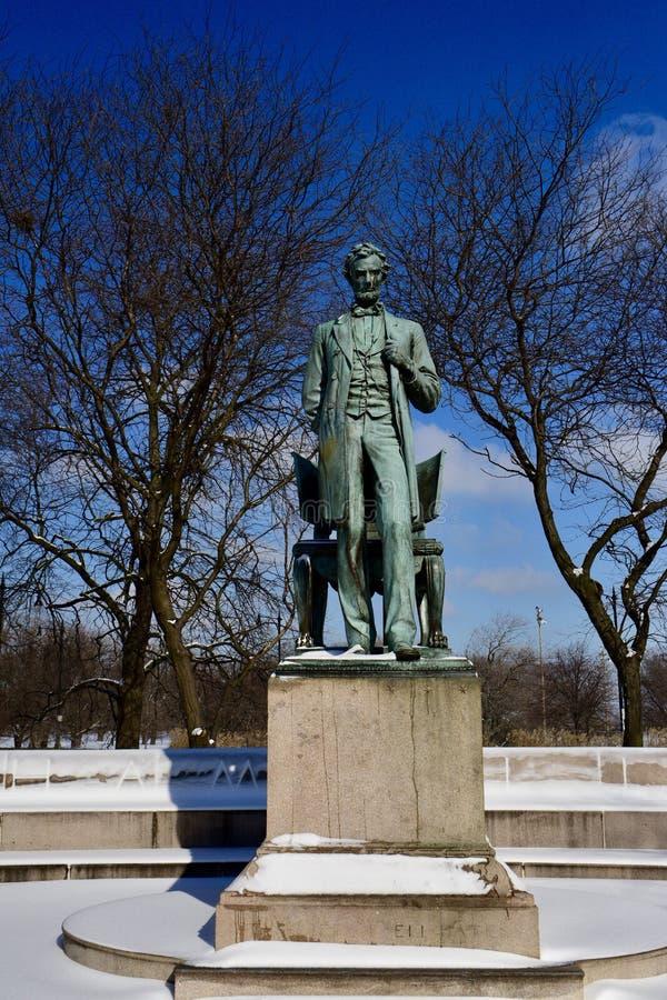 Авраам Линкольн: Человек стоковое изображение rf
