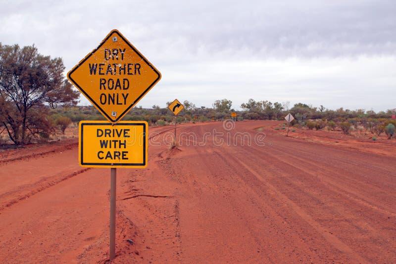 австралийская дорога стоковые изображения rf