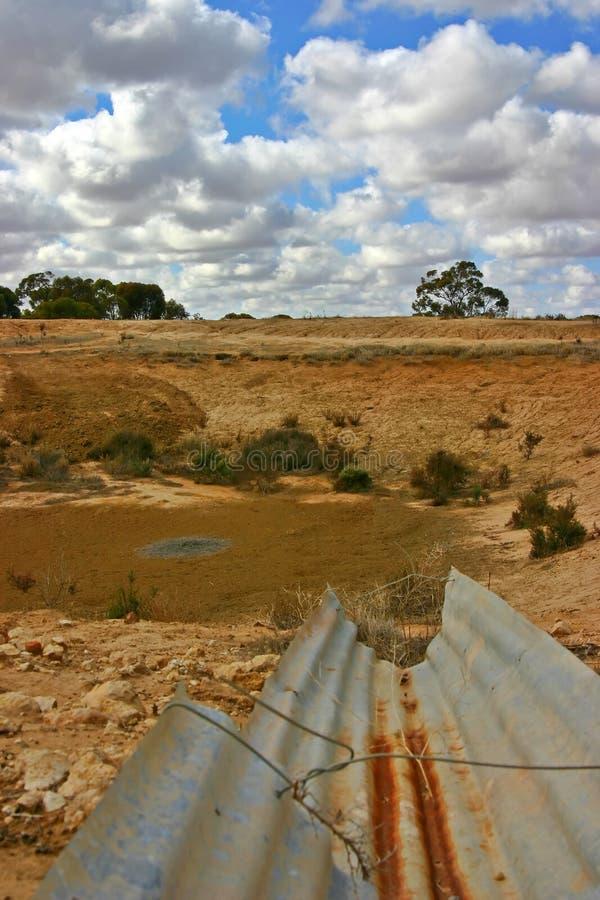австралийская засуха стоковые изображения rf