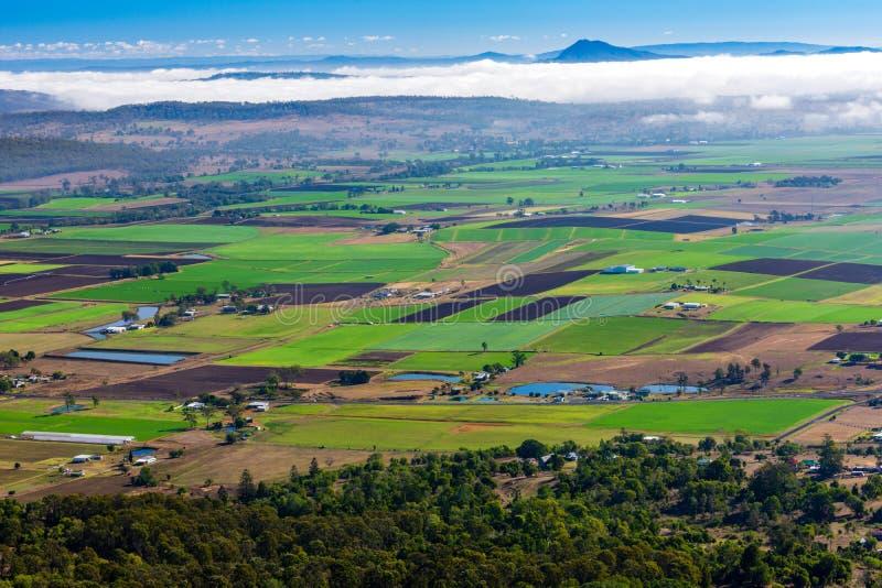 Австралийская сельская местность - Квинсленд - Австралия стоковые фотографии rf