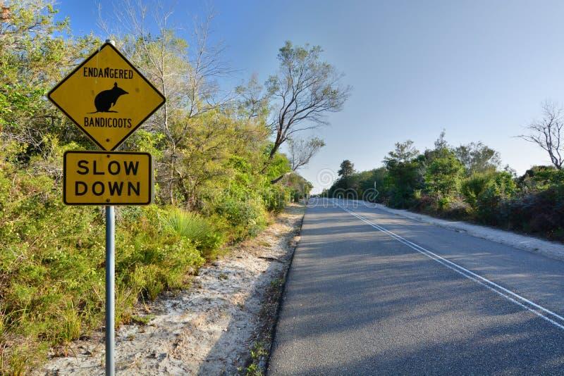 австралийский дорожный знак мужественно Сидней Австралия fields долина вэльс охотника виноградин новая южная australites стоковое фото
