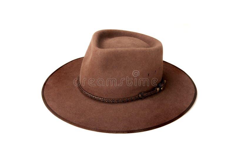 австралийский шлем bush стоковые изображения rf