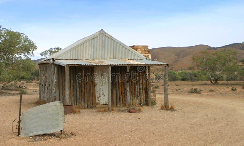 австралийское захолустье дома стоковая фотография