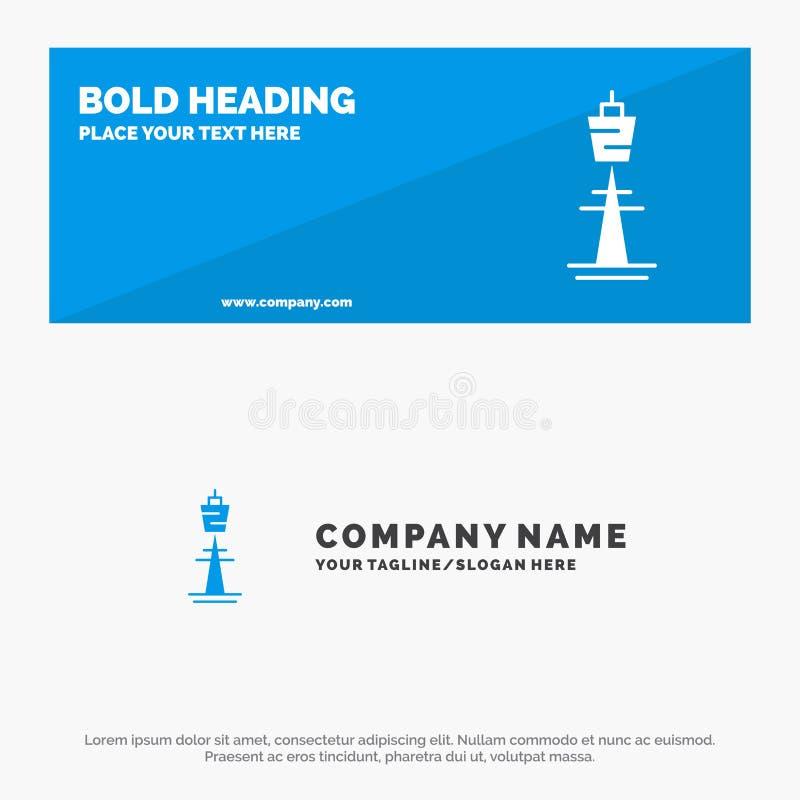 Австралия, австралиец, здание, Сидней, башня, башня ТВ знамя вебсайта значка твердые и шаблон логотипа дела иллюстрация штока