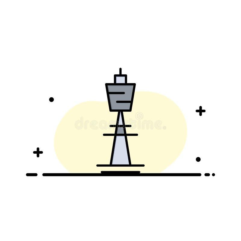 Австралия, австралиец, здание, Сидней, башня, шаблон логотипа дела башни ТВ r иллюстрация штока