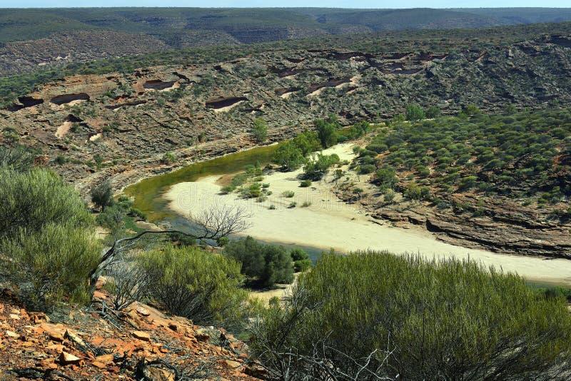 Австралия, WA, Kalbarri NP стоковое фото