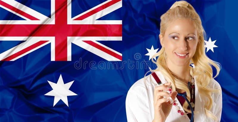 Австралийское здравоохранение стоковое изображение