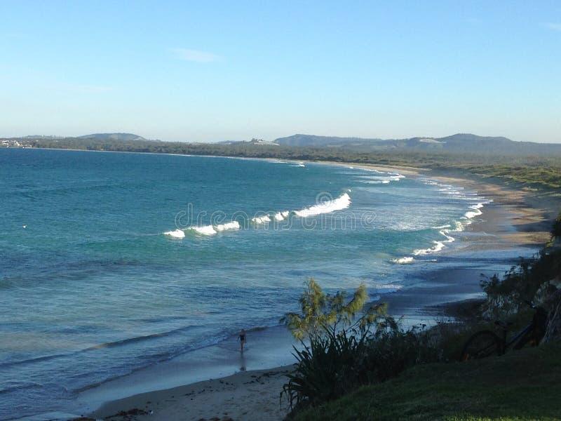 австралийское место пляжа стоковая фотография rf