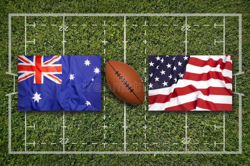 флаг сша и австралии фото нем