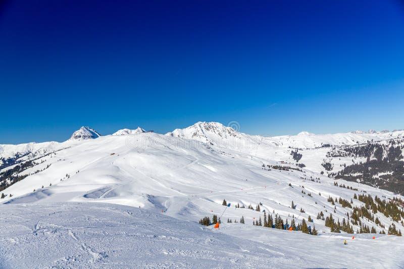 Австрийская зима стоковое изображение rf
