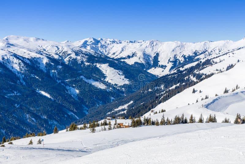 Австрийская зима стоковая фотография