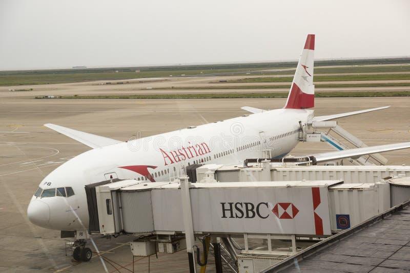 Австрийские авиакомпании стоковые фото