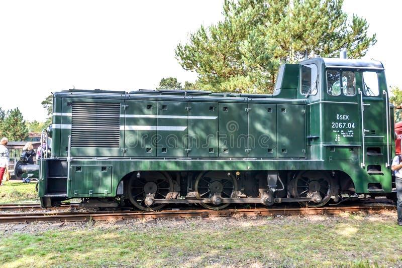 Австрийский тепловозный шунтируя локомотив 2067 стоковые фото