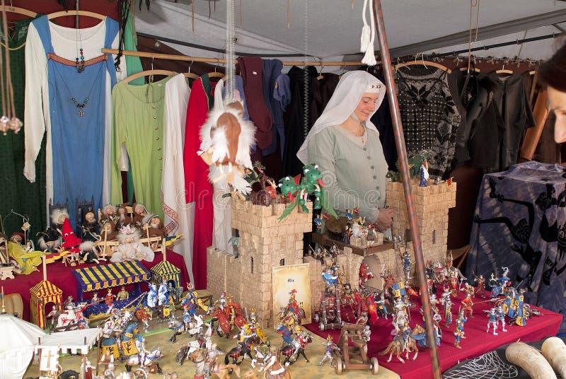 Австрия, фестиваль Medival стоковая фотография