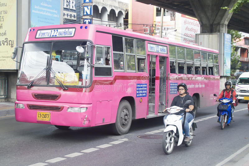 Автовокзал 122 Бангкок - Huai Khwang стоковые изображения