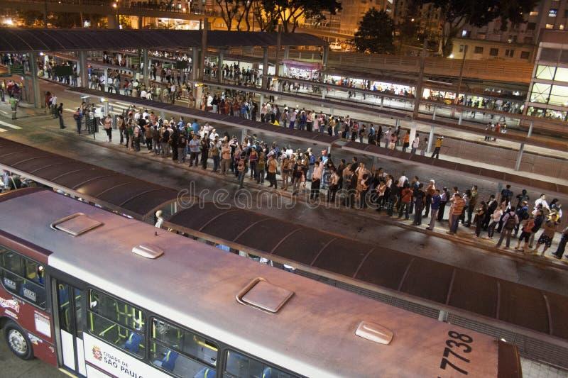 Автовокзал Bandeira стоковая фотография rf