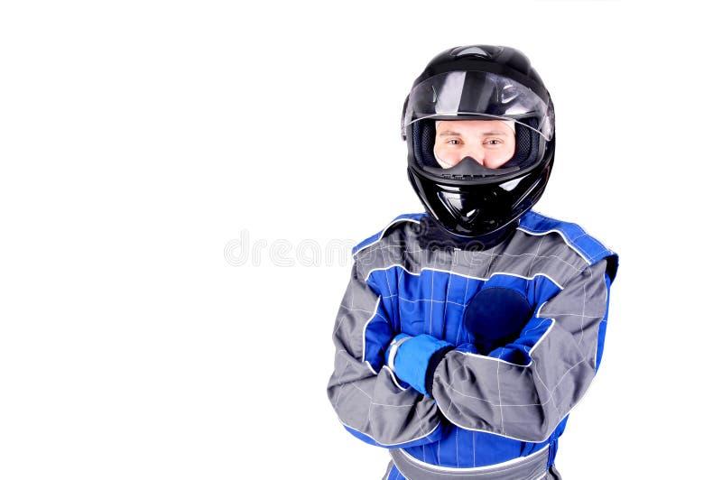 Автогонщик стоковая фотография rf
