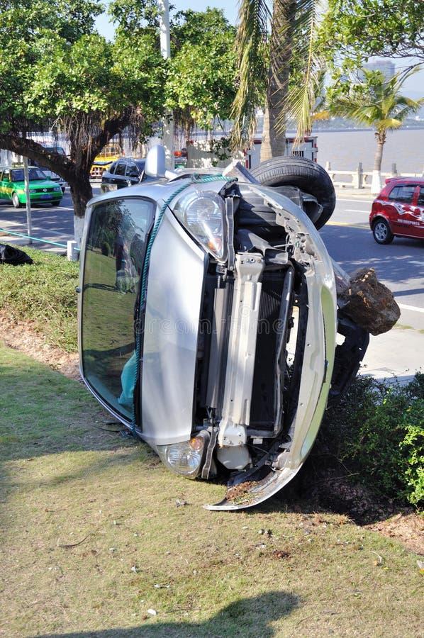 автокатастрофа аварии стоковое изображение rf