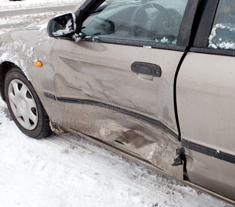 автокатастрофа аварии стоковая фотография rf