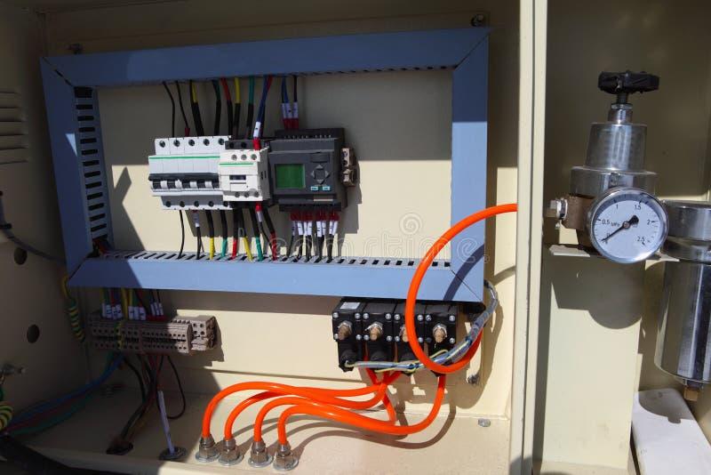 автоматизация электрическая стоковые изображения rf