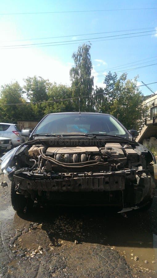 Автоматическая авария стоковое фото rf