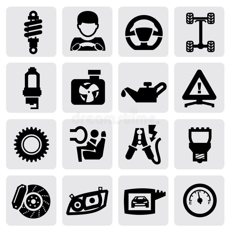 Автоматическая икона иллюстрация штока