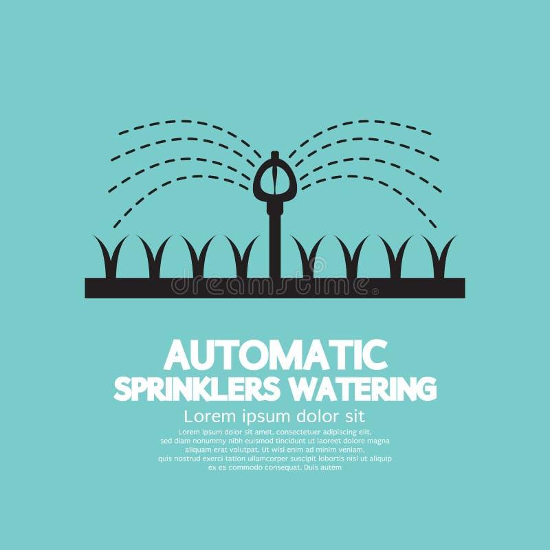 Автоматический мочить спринклеров бесплатная иллюстрация