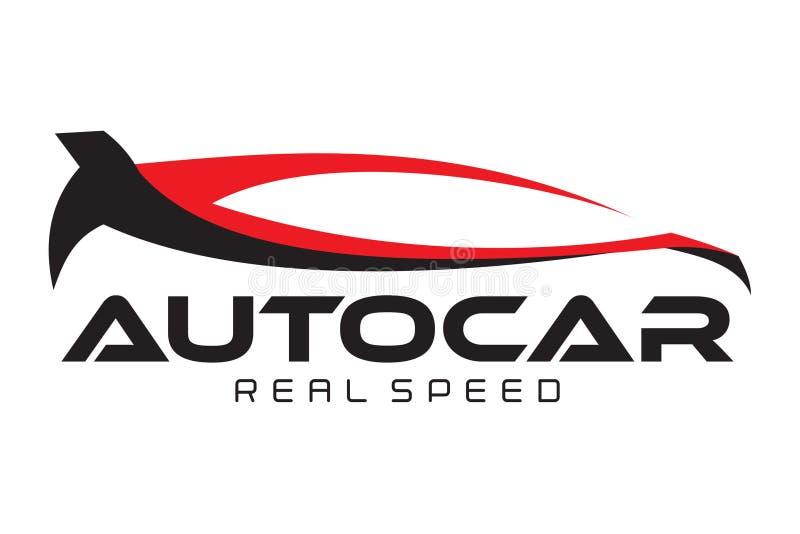 Автоматический логотип автомобиля иллюстрация штока