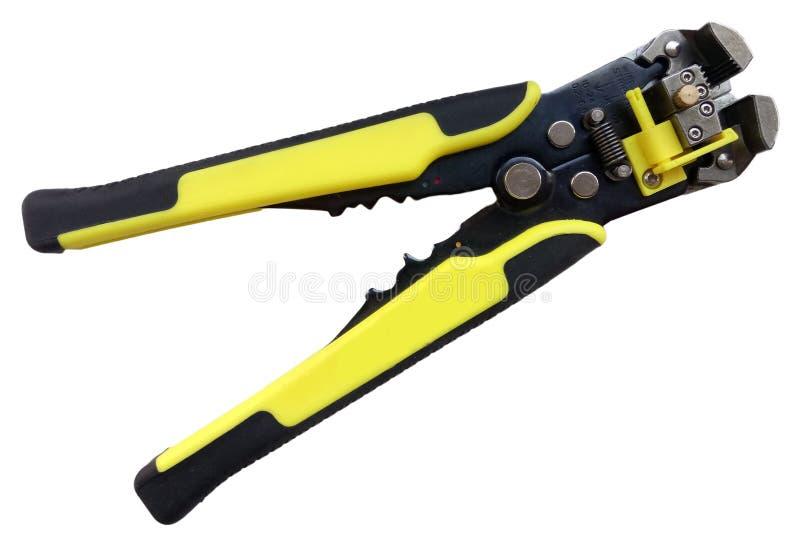 Автоматический черный и желтый стриппер для обнажать стоковое фото rf