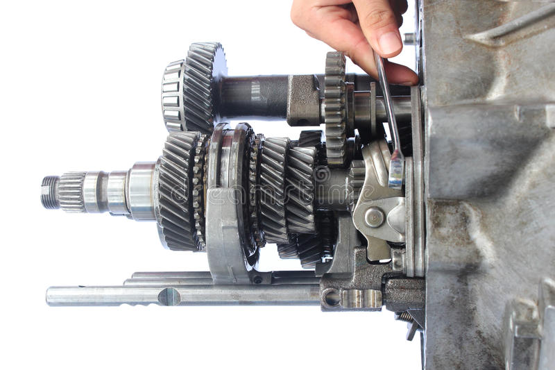 Download Автоматическое обслуживание коробки передач Стоковое Фото - изображение насчитывающей управление, промышленно: 40588216