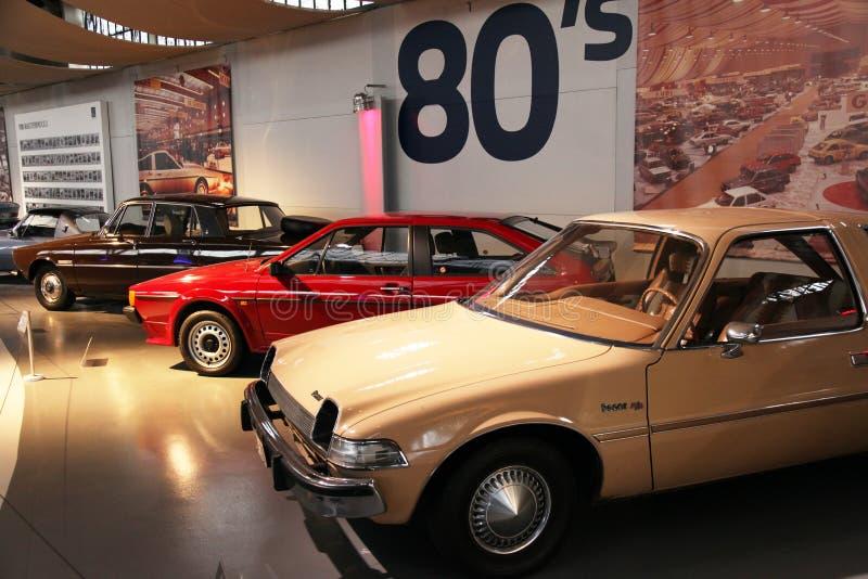 Автомобили девятого десятка стоковое фото