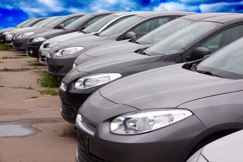 автомобили новые стоковые фотографии rf