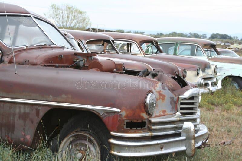 автомобили старые стоковая фотография rf