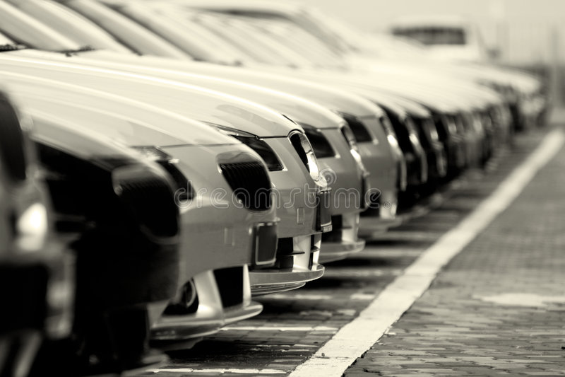 автомобили стоковое фото rf