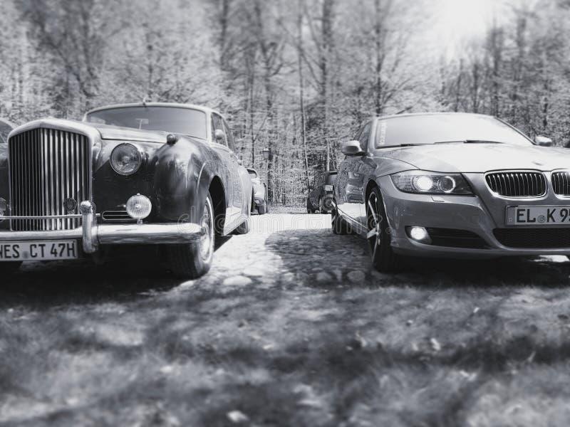 Автомобили Photographie oldtimer bentley Bmw стоковое фото rf